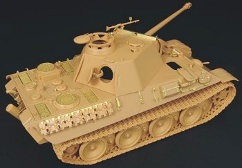 Hauler-Photo-etched-Panther-Tamiya-1/48